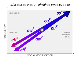 Associating Color With Singing Vowels