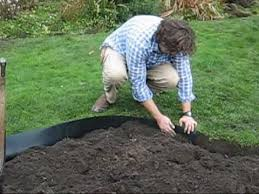 how to install recycled plastic lawn