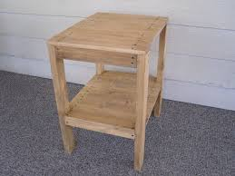 diy plans to make end table set indoor outdoor by wingsto