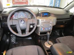 2004 Mitsubishi Endeavor XLS Charcoal Gray Dashboard Photo ...