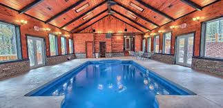 Indoor pool Simple Lodges With Indoor Pools In Hocking Hills Oystercom Four Luxurious Lodges In Hocking Hills With Heated Indoor Pools