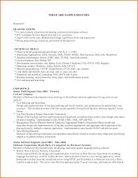 Resume Qualifications Qualifications Cv Cv Key Qualifications Madratco Resume Key 4