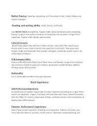 Interpreter Resume Sample Interpreter Resume No Experience Good