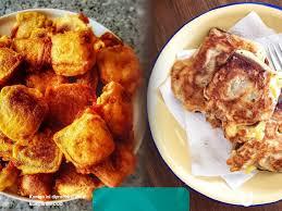 Buatlah adonan tepung trigu dicampur sedikit air sedikit garam dan bawang putih, boleh juga ditambahkan telur ayam, atau. Resep Masakan Kue Keranjang Goreng Legit Untuk Kudapan Imlek Kumparan Com