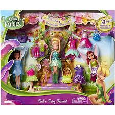 1.Disney Fairies 4.5\u2033 Tink\u0027s Friendship Festival Set Best Toys For 4-6 Year Old Girls | Deals for Babies and Kids
