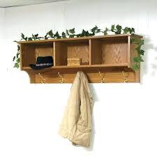coat rack with diy wall hanging coa wall