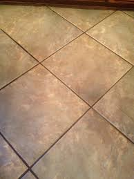 porcelain tile and grout before cleaning and sealing photo credit az tile and grout