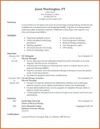 Occupational Therapist Resume Template Massage Therapist Cover