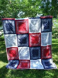 Red White And Blue Quilt Patterns Free Red White And Blue Bandana ... & Red White And Blue Quilt Patterns Free Red White And Blue Bandana Quilt Top  Summer 2013 Adamdwight.com