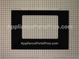 whirlpool door glass wpw10118455 from appliancepartspros com