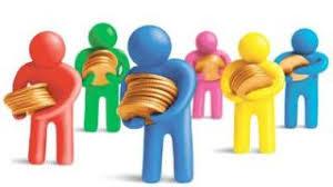 Resultado de imagen para imagen de un patron entregandole dinero a su empleado