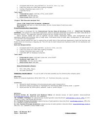 Stunning Asp Net Project Description In Resume 38 On Resume For Customer  Service With Asp Net