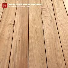 a grade or premium teak wood material could be made into unfinished teak flooring without any defects on the surface such as knots color variation