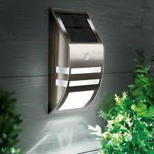 solar power led dual smd motion sensor outdoor wall light jpg