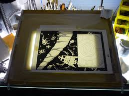 picture of light table drawing board