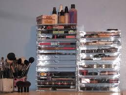 muji acrylic makeup organizer uk