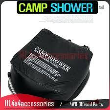 outdoor solar shower bag outdoor solar camp shower water bag solar energy heated 5 gallon for