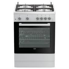 beko 4 gas burners cooker fsgt62130gw