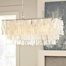 mrsa lighting large rectangle hanging capiz pendant west elm chandelier capiz lighting fixtures