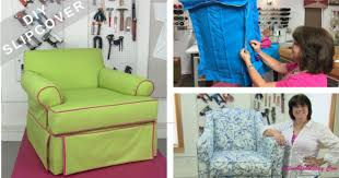 learn to sew your own diy slipcover