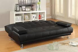 sofa beds and futons faux leather convertible sofa bed with