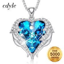 swarovski pendant silver necklace cosys cc