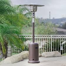 Propane patio heater Dcs 48000 Btu Outdoor Propane Patio Heater Lp Gas With Reguator And Wheel Mocha Ebay 48000 Btu Outdoor Propane Patio Heater Lp Gas With Reguator And