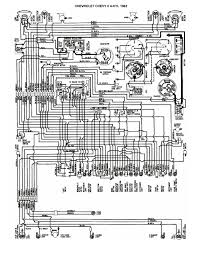 1956 chevrolet wiring diagram 1955 chevy wiring diagram