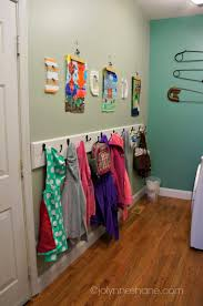 Kids Coat Rack With Storage Laundry Room Makeover Kids Coat Hooks Coat Hooks And Laundry Rooms 10