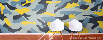camouflage wallpaper mural