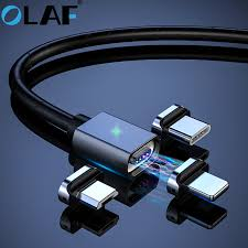 <b>OLAF 3A Magnetic</b> Micro USB Cable For iPhone Samsung Fast ...