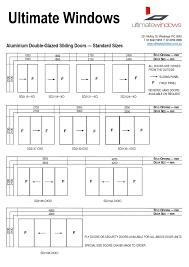 typical height of sliding glass door sliding doors design with regard to proportions 1240 x 1754