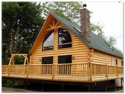 wrap around porch log cabin plans listed in