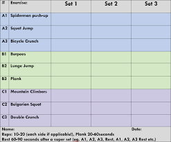 work out sheet for the gym workout sheet for gym kayaworkout co