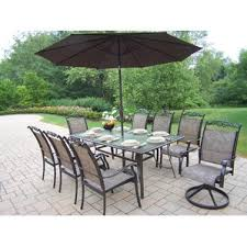 patio furniture dining sets with umbrella. basile dining set with umbrella patio furniture sets l