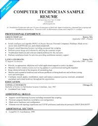 Computer Technician Sample Resume Best of Entry Level Resumes Information Technology Entry Level Resume