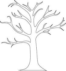 Branch Template How To Create A Tree Mural Tree Stencil Tree Outline