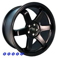 Details About Mst Mt01 Wheels 18 X 8 5 35 Flat Black Rims 5x114 3 16 17 18 Subaru Impreza Wrx