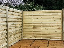 Living Horizontal Wood Fence Panels GMM Home Interior 79766