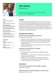 The job of an english teacher, like other teachers. Job Winning Resume Templates 2021 Free Resume Io