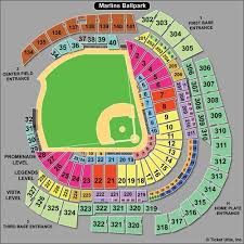 Miami Marlins Interactive Seating Chart Marlins Park Home Plate Garage Best Plate 2018