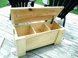 deck storage benches outdoor surprising cedar bench diy plans be