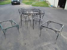 vintage wrought iron table. Delighful Vintage Vintage Wrought Iron Patio Furniture Table Chairs With Table W