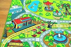 childrens rugs road map city rug kids play mat new car track rugby