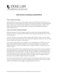 Judicial Law Clerk Resume Resume Cover Letter Legal Sample Cover