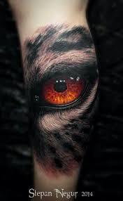 Artist Stepan Negur Tetování Tetování Oči A Obličej