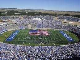 Air Force Game Day At Falcon Stadium Canvas Print Canvas