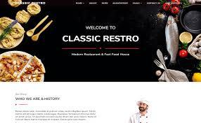 Restaurant Menus Layout Classicrestro Free Restaurant Menu Layout Template