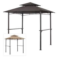 garden winds replacement canopy top for pacific casual bbq grill gazebo riplock 350 com