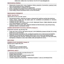 How To Write A Professional Profile Resume Genius Intended For Extraordinary Professional Profile Resume
